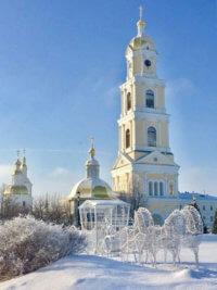 Фото - Колокольня Серафимо-Дивеевского женского монастыря