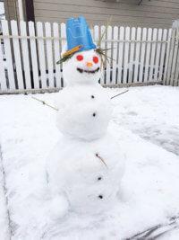 Фото - Снеговик