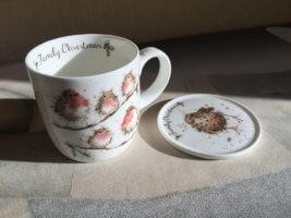 Фото - Подарок бабушке - чайная чашка с подставкой