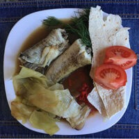 Фото - морская рыба на завтрак на тарелке