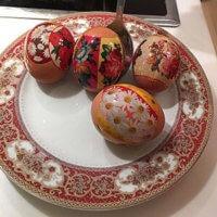 Фото - Пасхальные яйца. Пасха - Воскресение Христово