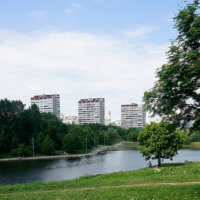 Фото Большого Очаковского пруда в Москве