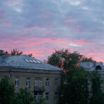 Фото - Закат в районе Кунцево