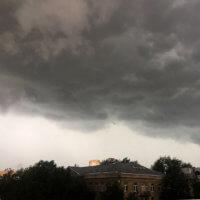 Фото - Внезапный Июньский Ливень В Районе Кунцево (Москва)