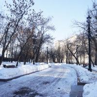 Фото - Сретенчкий бульвар в феврале (Москва)